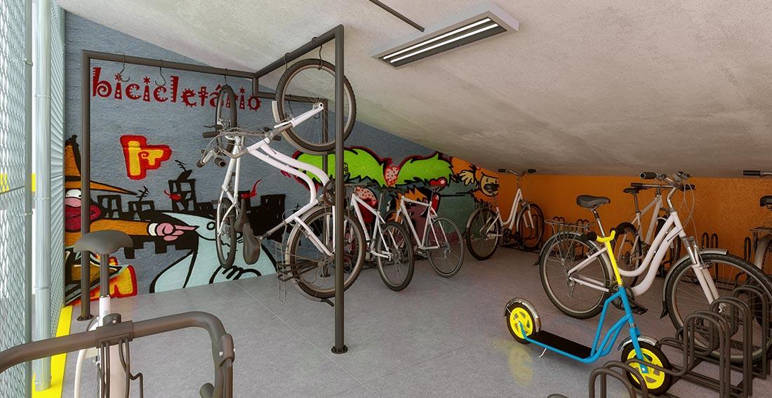 Bicicletário Stilo Flex Ceilândia